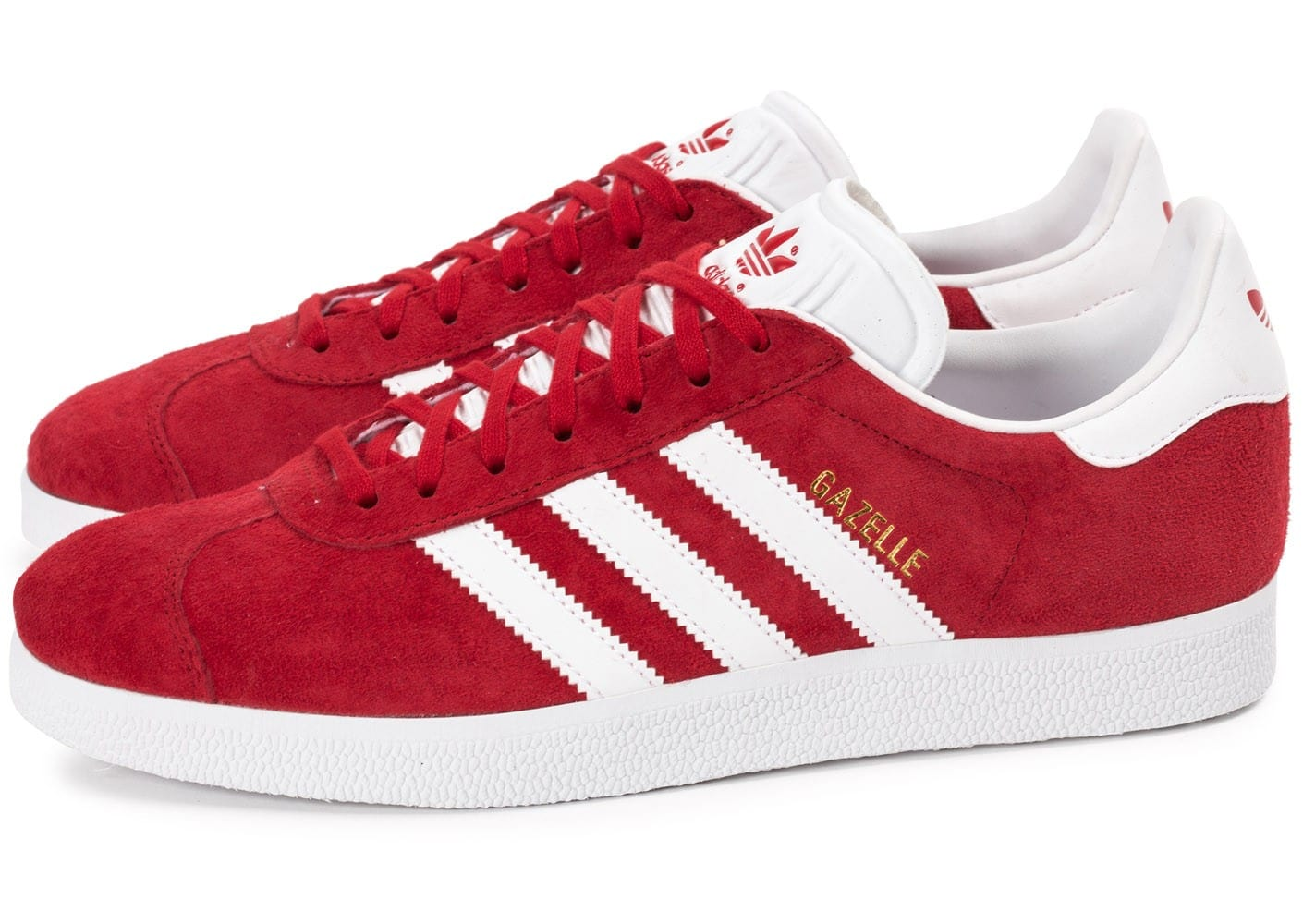 adidas gazelle rouge chaussures homme chausport. Black Bedroom Furniture Sets. Home Design Ideas