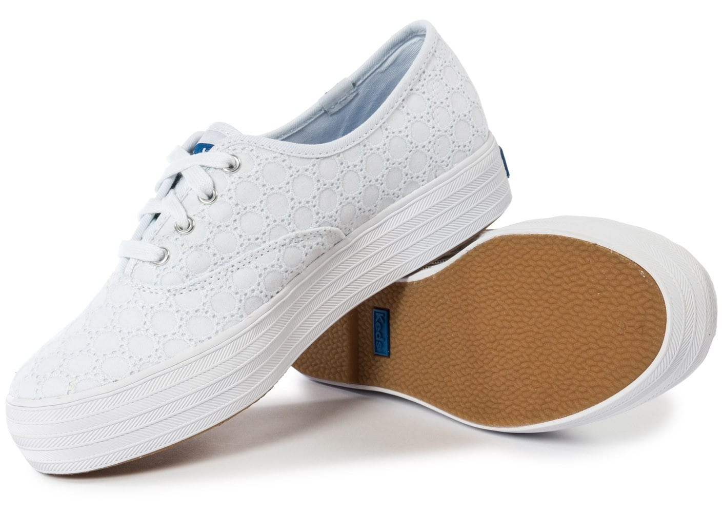 keds champion eyelet compens e blanche chaussures chaussures chausport. Black Bedroom Furniture Sets. Home Design Ideas