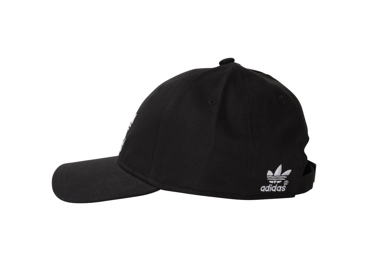 adidas casquette classic noir blanche adidas chausport. Black Bedroom Furniture Sets. Home Design Ideas