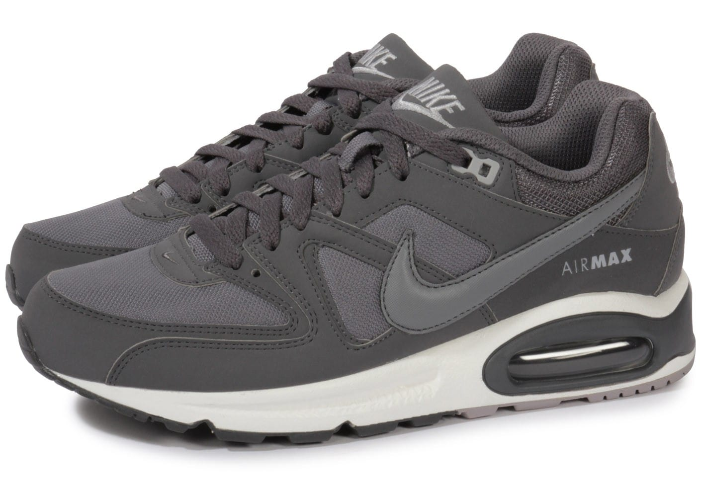 nike air max command grise chaussures baskets homme chausport. Black Bedroom Furniture Sets. Home Design Ideas