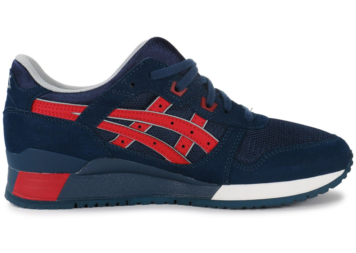 asics gel lyte 3 rouge et bleu marguerite. Black Bedroom Furniture Sets. Home Design Ideas