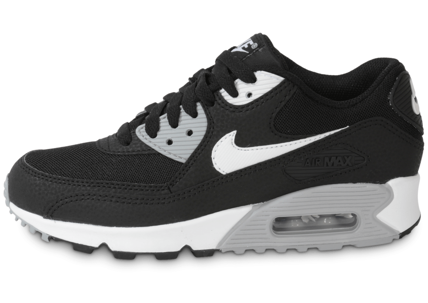 nike air max 90 essential noir blanc chaussures chaussures chausport. Black Bedroom Furniture Sets. Home Design Ideas