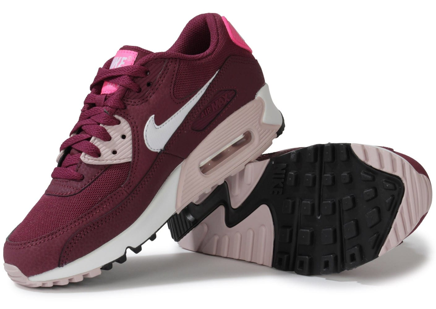 nike air max 90 essential villain red chaussures chaussures chausport. Black Bedroom Furniture Sets. Home Design Ideas