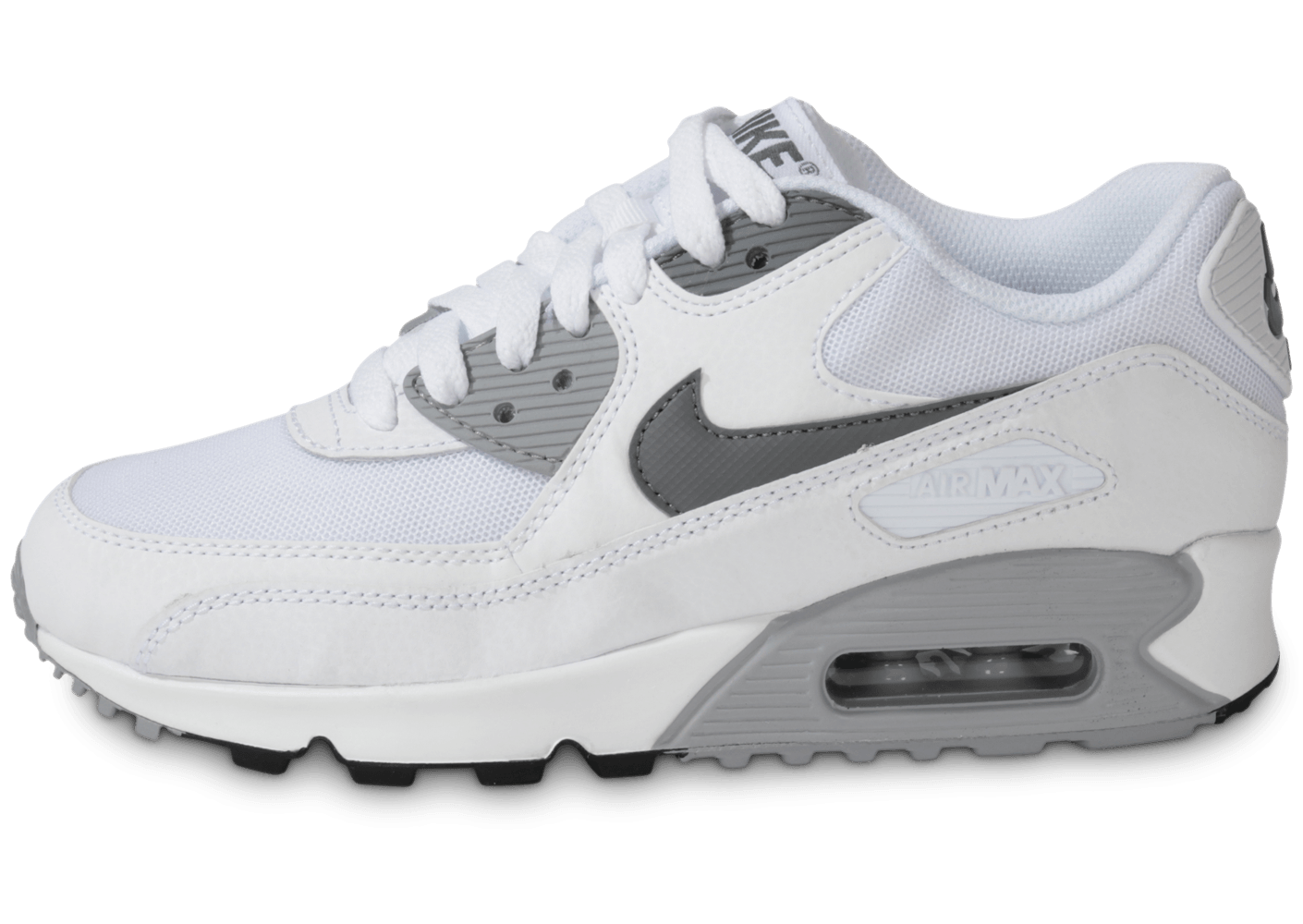 nike blanche et grise