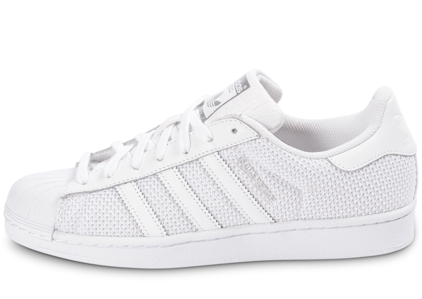 adidas superstar nylon blanche chaussures homme chausport. Black Bedroom Furniture Sets. Home Design Ideas