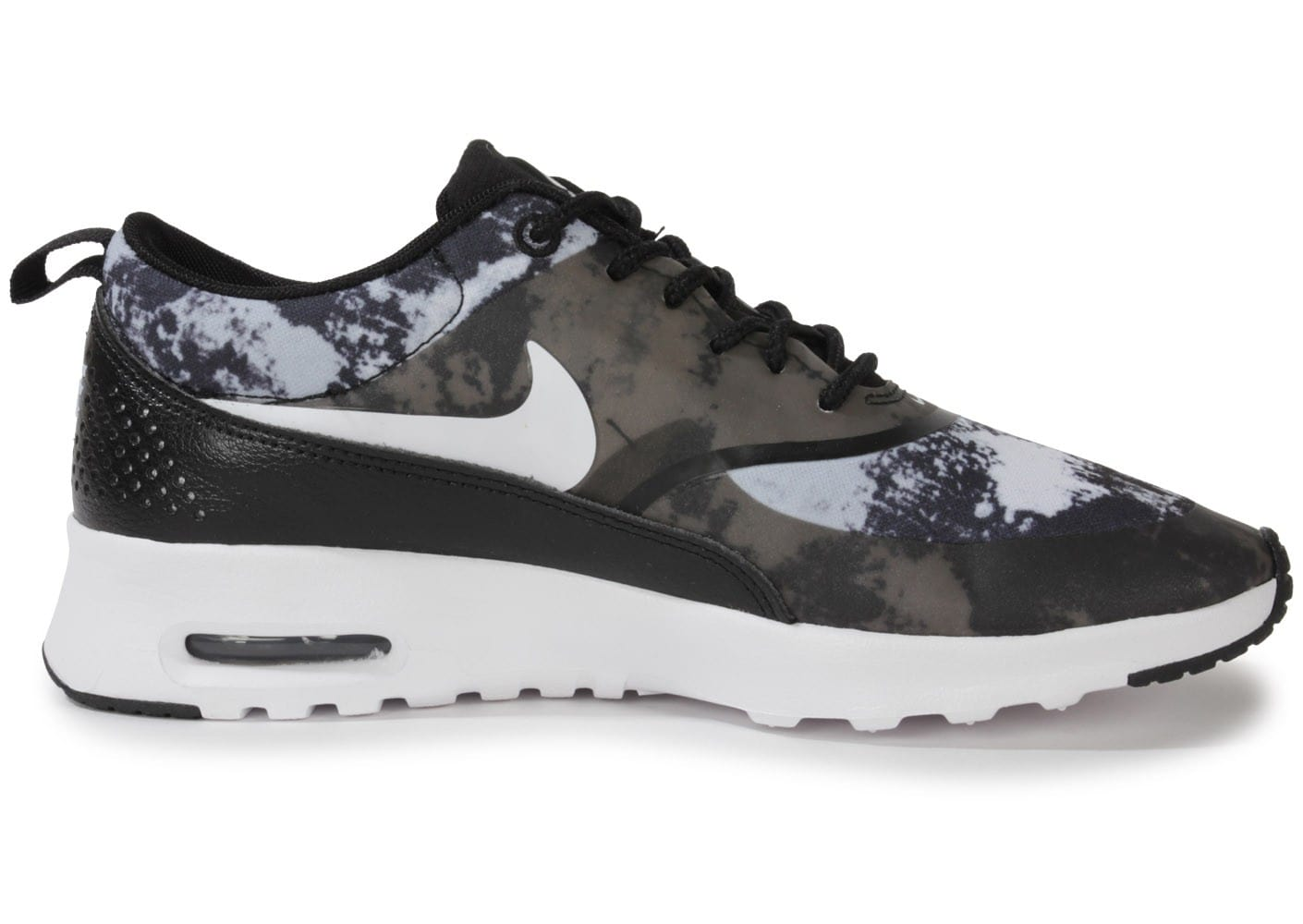 nike air max thea print noire chaussures chaussures chausport. Black Bedroom Furniture Sets. Home Design Ideas