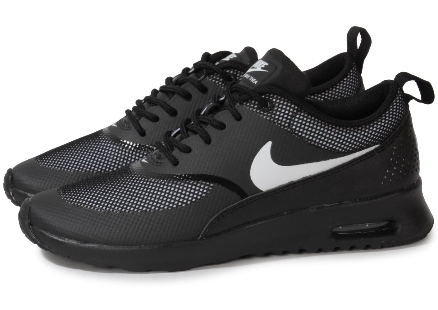 nike air max thea black white chaussures chaussures chausport. Black Bedroom Furniture Sets. Home Design Ideas