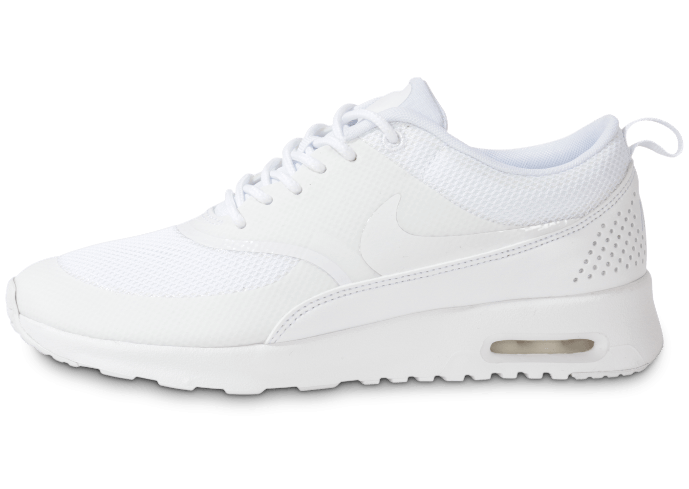 nike air max thea triple blanc chaussures chaussures chausport. Black Bedroom Furniture Sets. Home Design Ideas