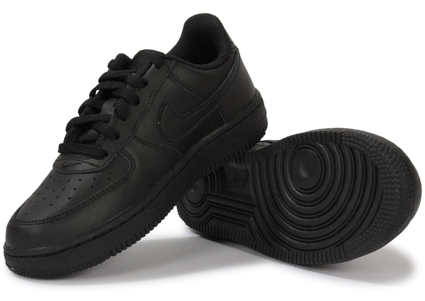 nike air force 1 enfant noire chaussures chaussures chausport. Black Bedroom Furniture Sets. Home Design Ideas