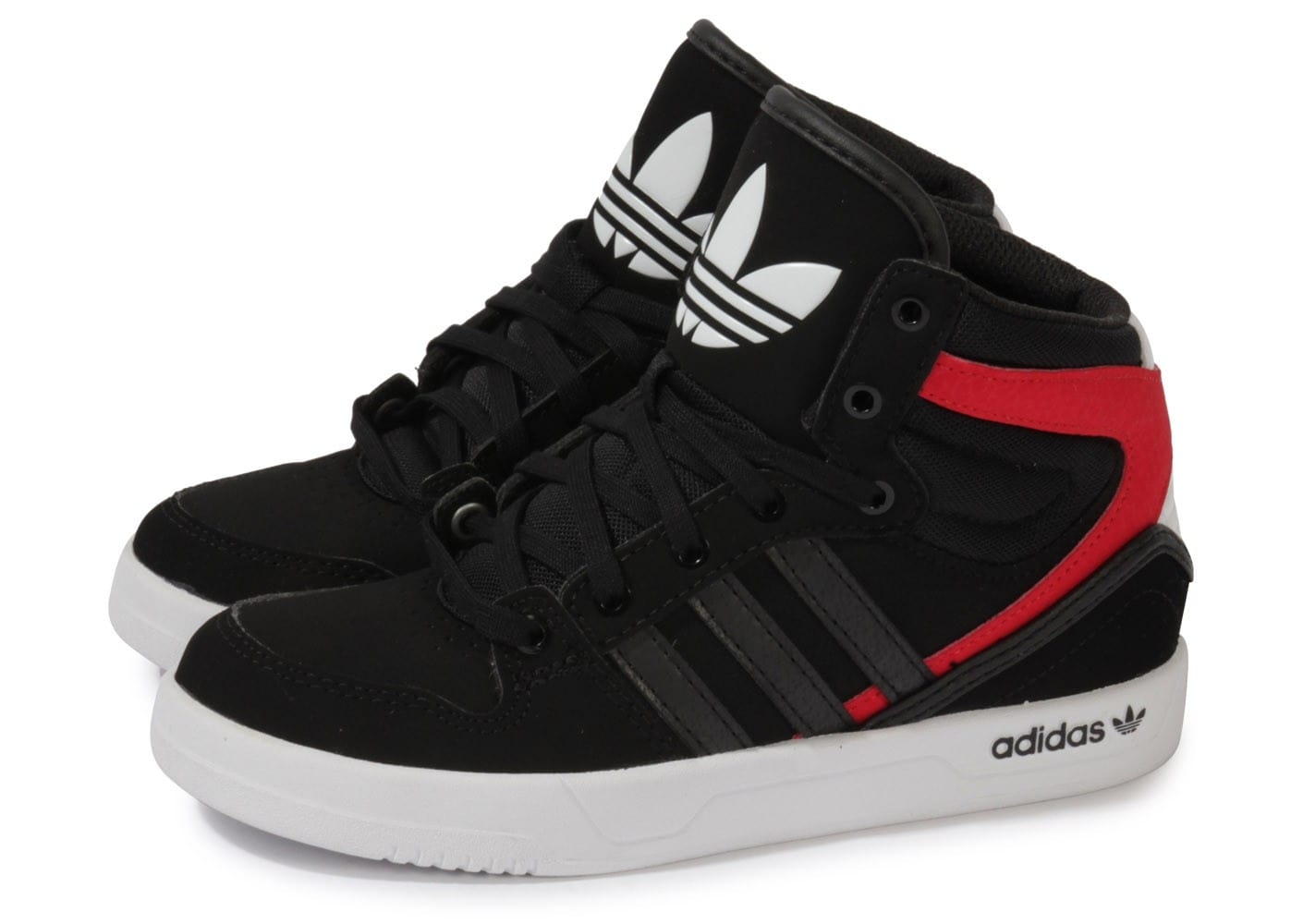 adidas court attitude enfant noire chaussures adidas chausport. Black Bedroom Furniture Sets. Home Design Ideas