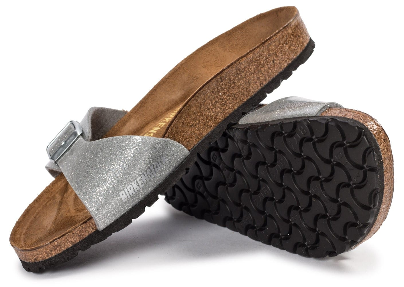 birkenstock madrid galaxy silver chaussures chaussures. Black Bedroom Furniture Sets. Home Design Ideas
