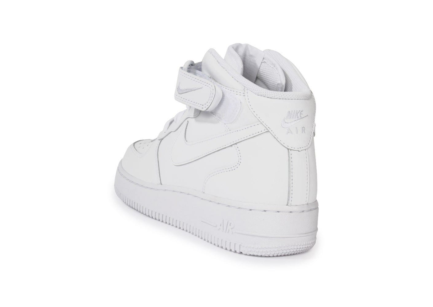 nike air force 1 mid 07 blanche baskets homme