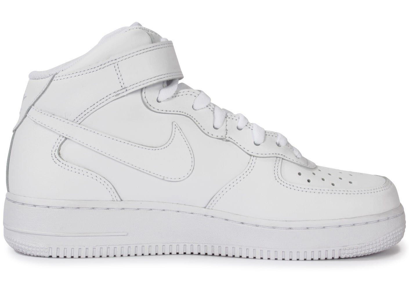 nike air force 1 mid 07 blanche chaussures homme chausport. Black Bedroom Furniture Sets. Home Design Ideas