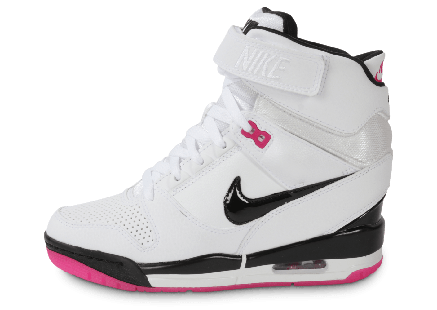 nike air revolution sky hi blanche chaussures chaussures chausport. Black Bedroom Furniture Sets. Home Design Ideas