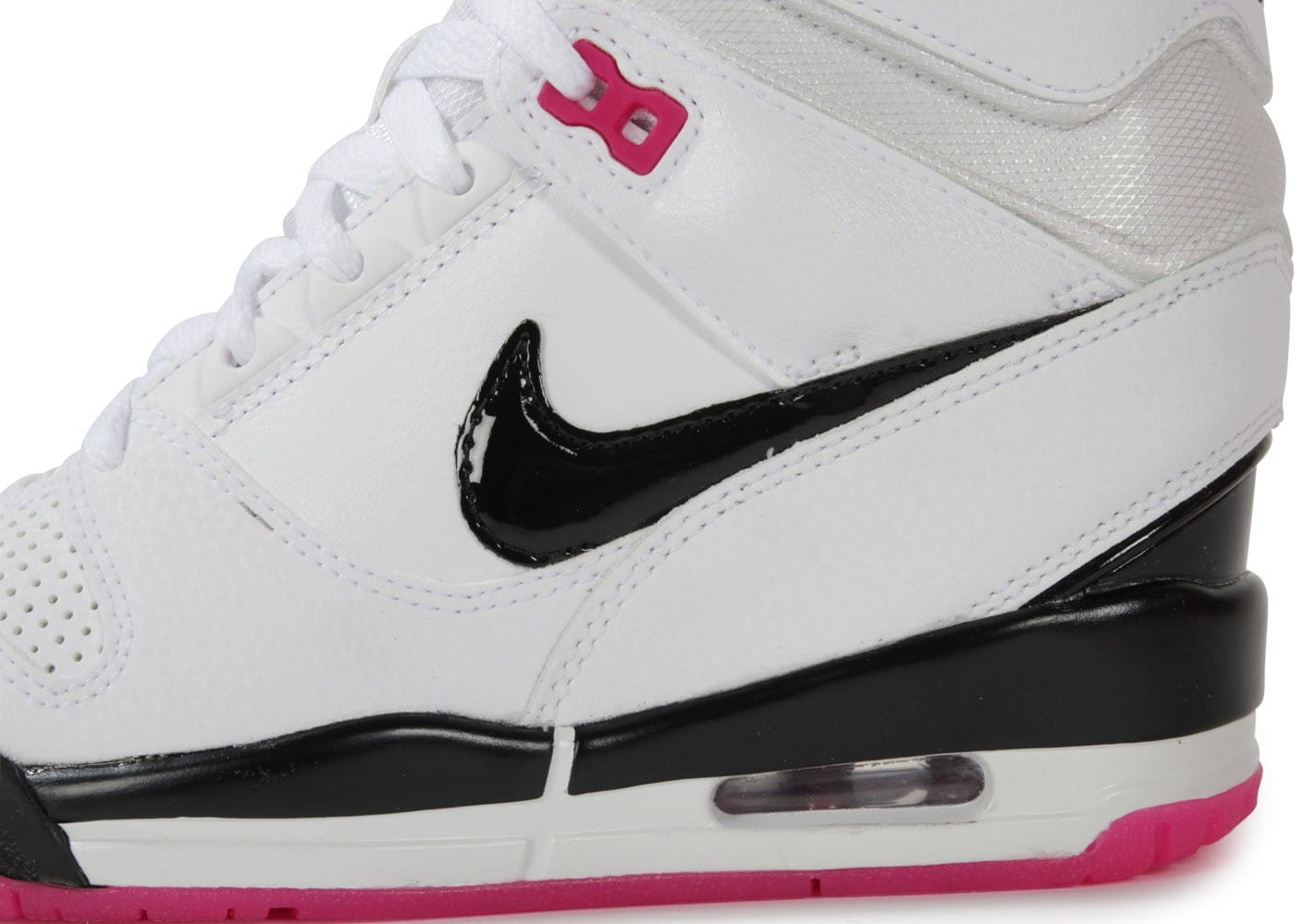 nike air revolution sky hi blanc et rose