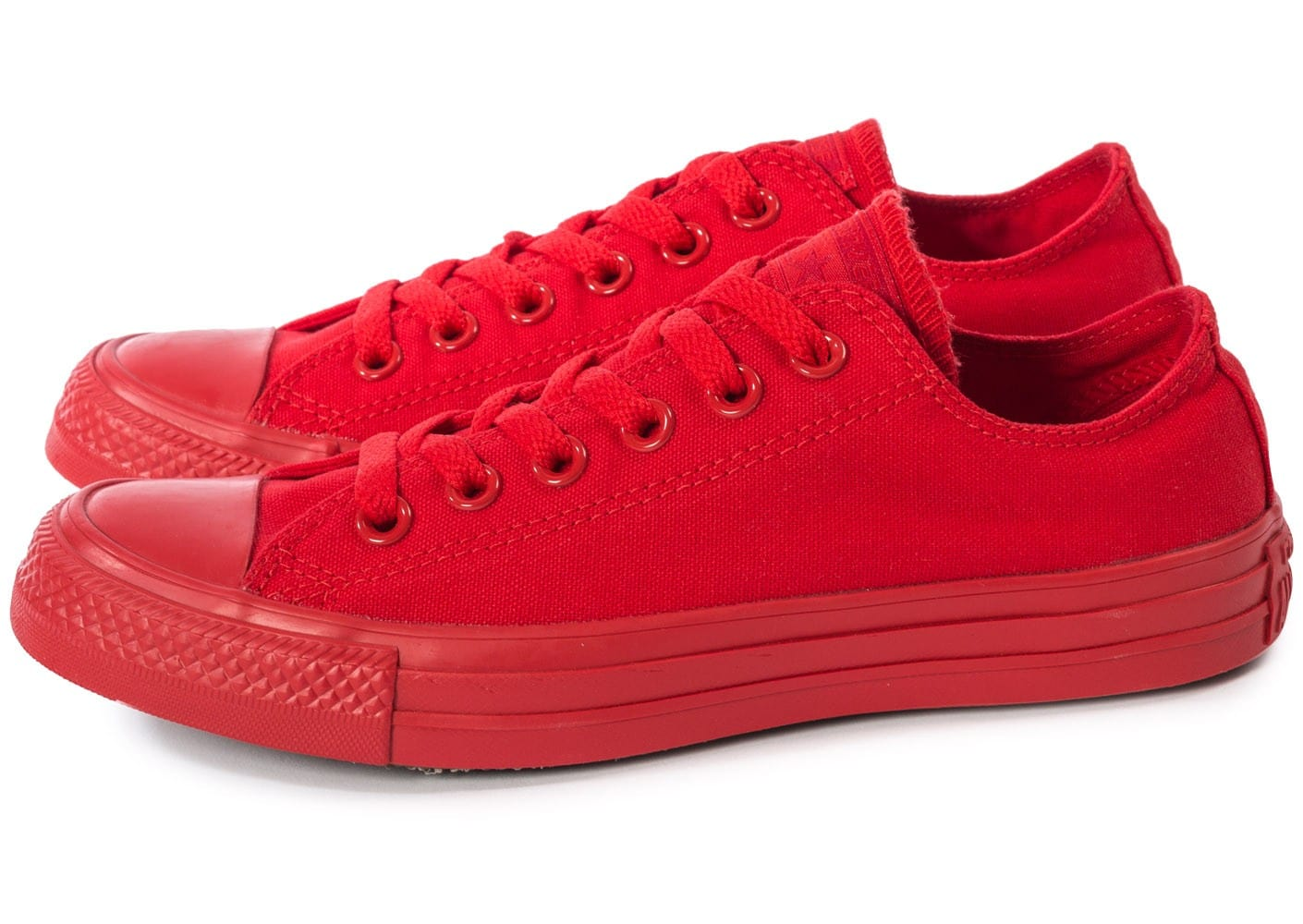 converse rouge basse
