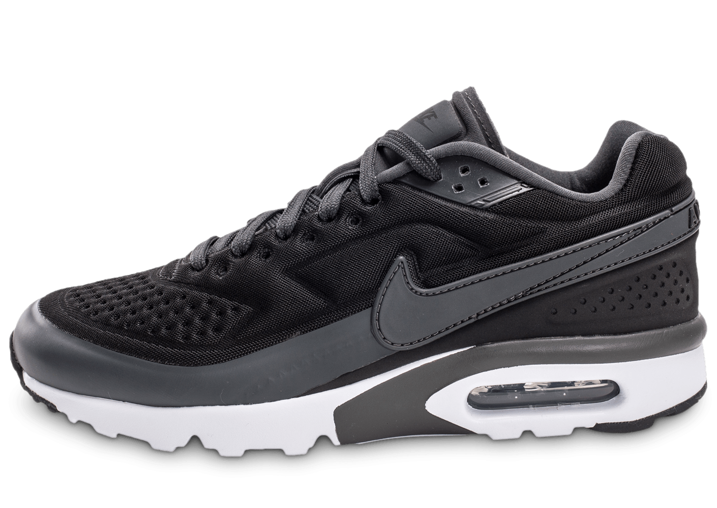 official photos 8093a 7aa3a ... chaussures nike air max bw ultra noir anthracite vue exterieure .