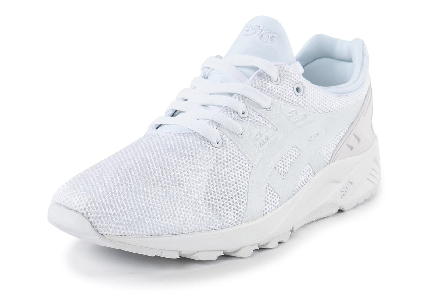 chaussures asics blanches