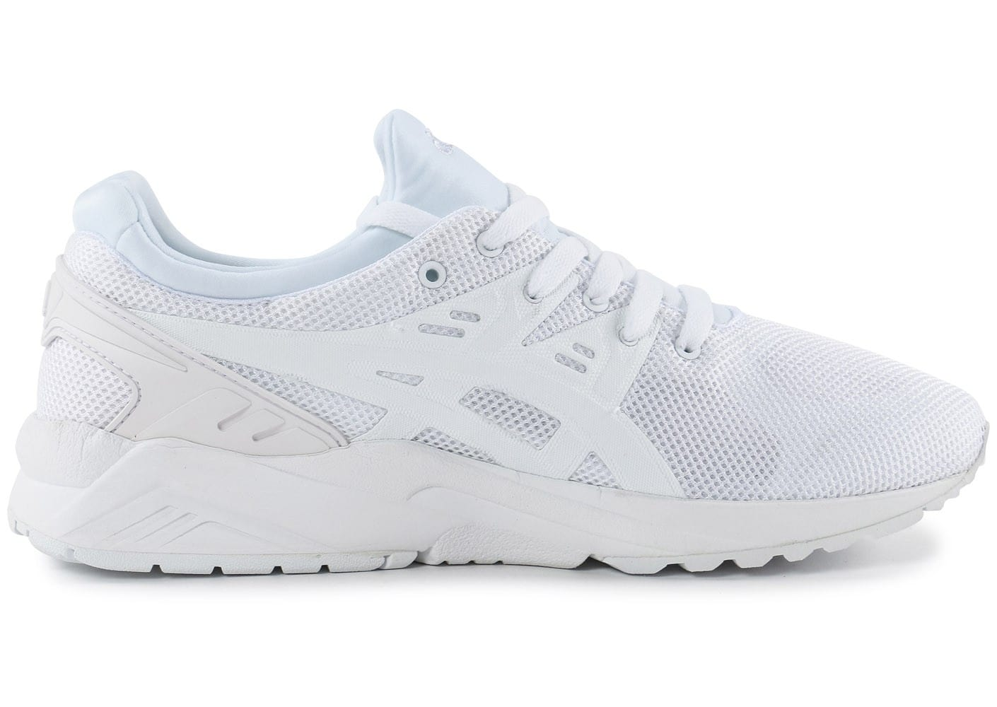 asics gel kayano trainer evo blanche chaussures baskets homme chausport. Black Bedroom Furniture Sets. Home Design Ideas