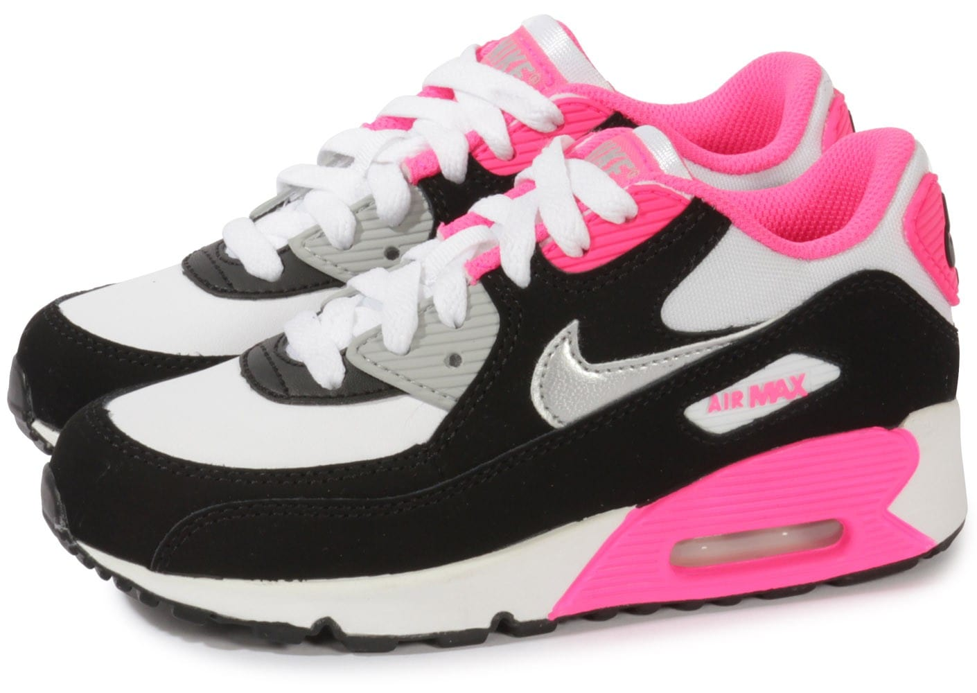 nike air max 90 enfant rose chaussures chaussures chausport. Black Bedroom Furniture Sets. Home Design Ideas