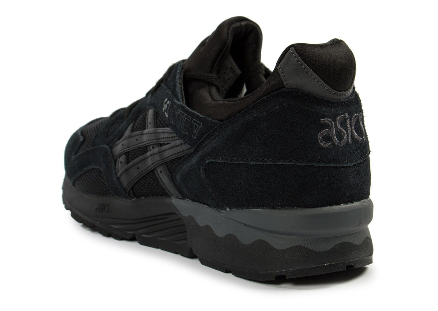 asics gel lyte v lights out noire chaussures homme chausport. Black Bedroom Furniture Sets. Home Design Ideas