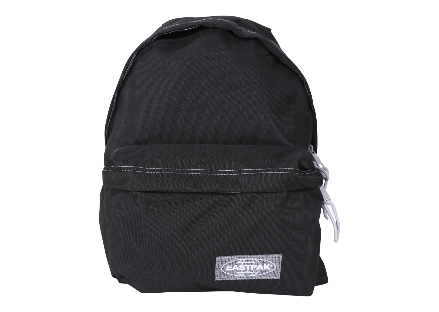eastpak sac dos padded pak 39 r noir et gris pour lyc ens chausport. Black Bedroom Furniture Sets. Home Design Ideas