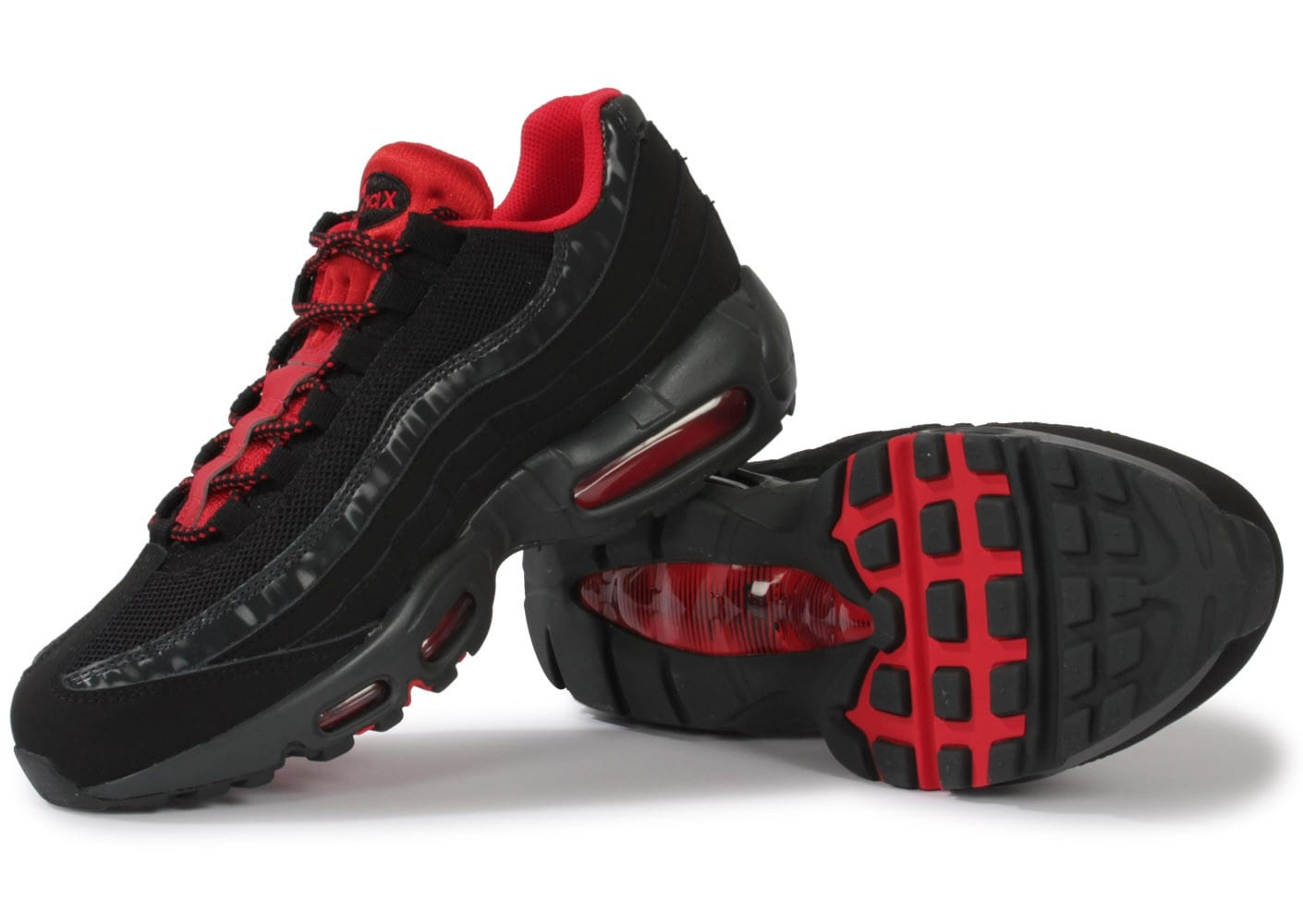 brand new 44e13 aa5cd air max 95 noir rouge