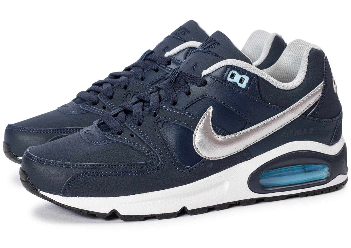 nike air max argent femme