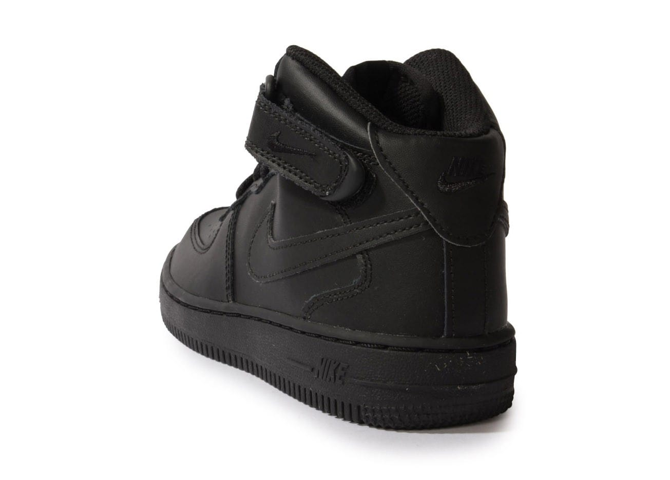 nike air force 1 mid enfant noire chaussures chaussures chausport. Black Bedroom Furniture Sets. Home Design Ideas