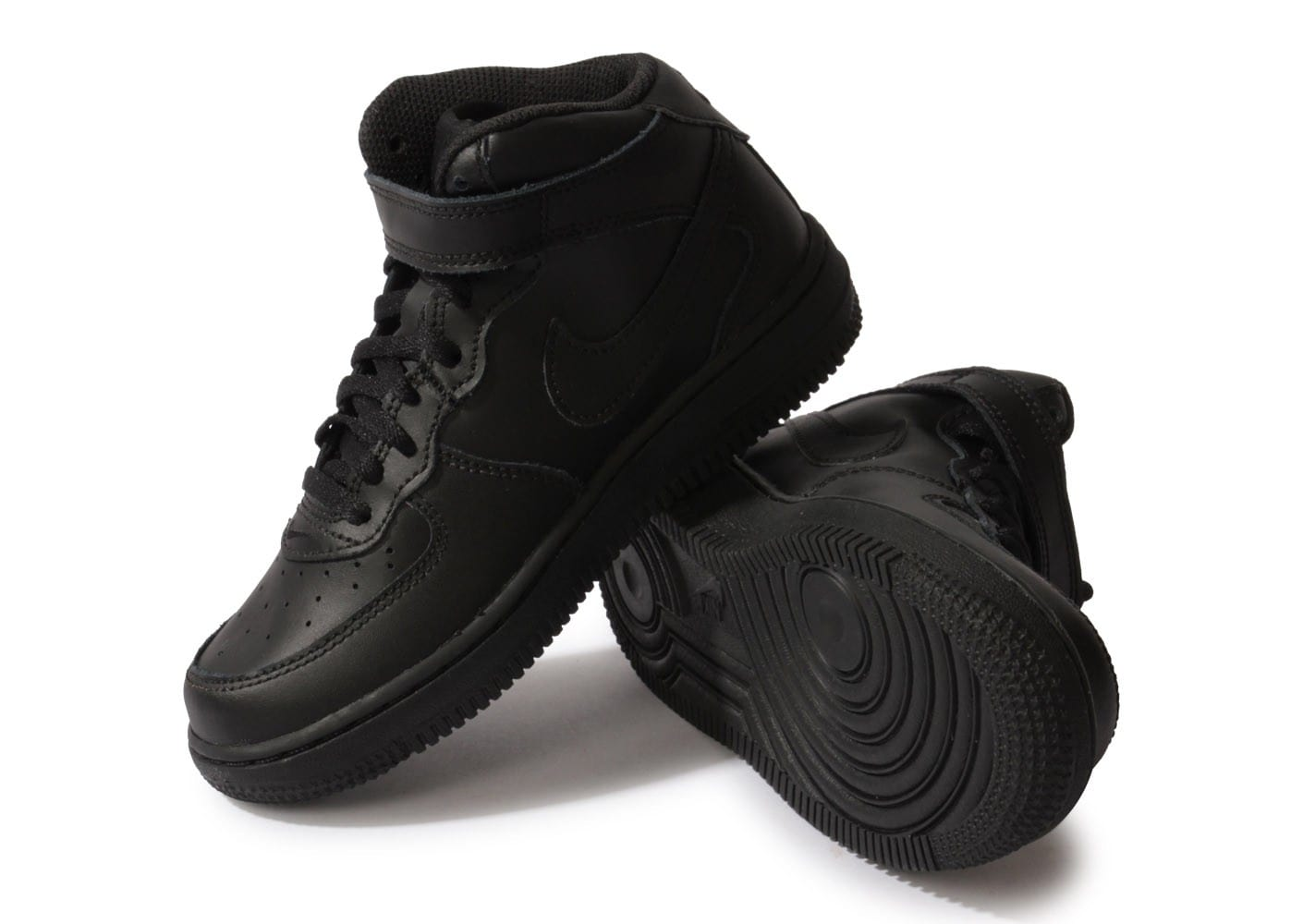 nike air force 1 mid enfant noire chaussures chaussures. Black Bedroom Furniture Sets. Home Design Ideas