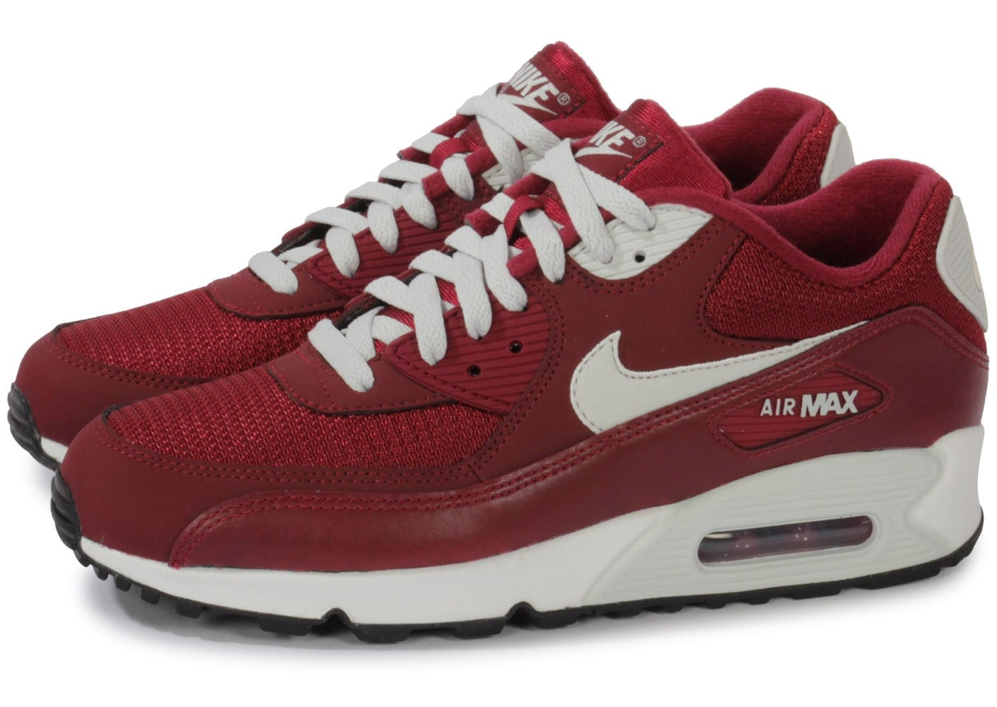 nike air max 90 essential bordeaux chaussures homme chausport. Black Bedroom Furniture Sets. Home Design Ideas