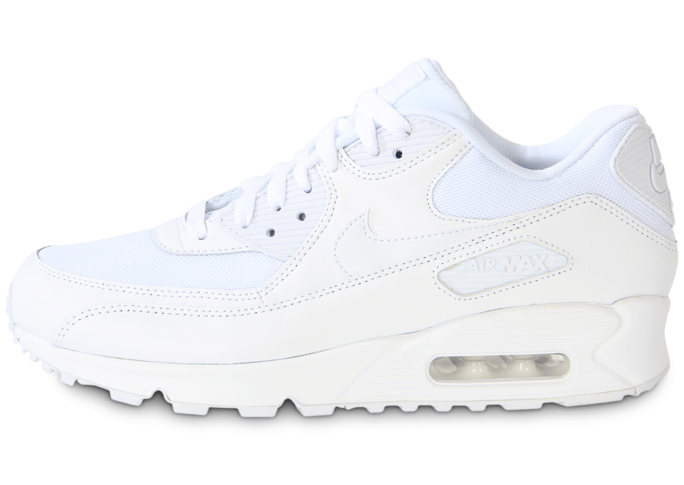nike air max 90 essential blanche chaussures homme chausport. Black Bedroom Furniture Sets. Home Design Ideas