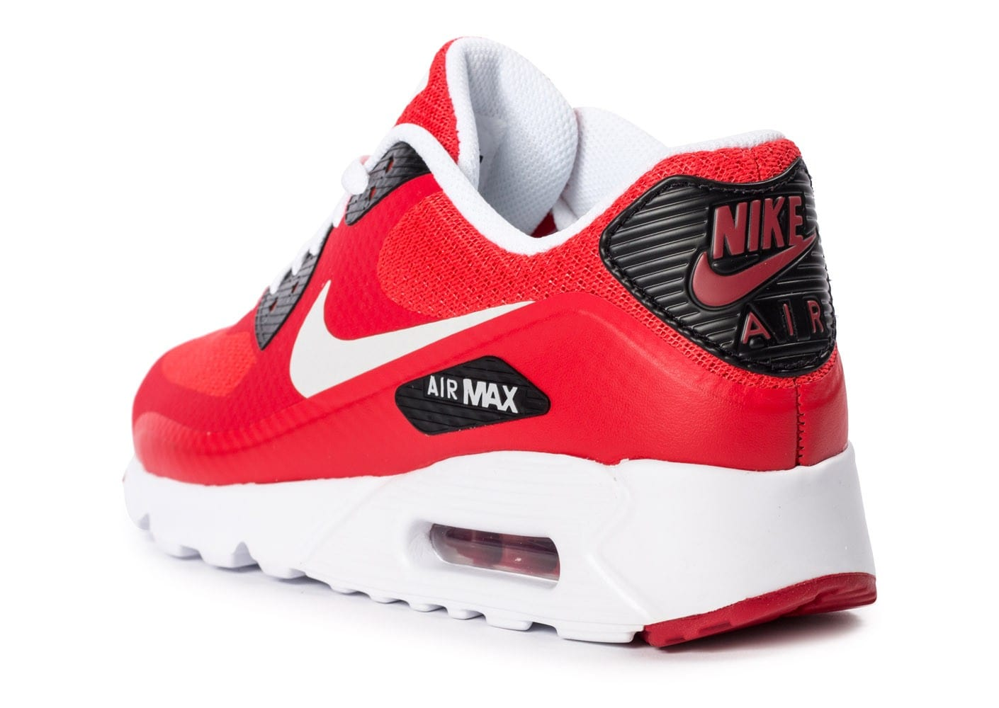 ... Chaussures Nike Air Max 90 Ultra Essential rouge vue avant ...
