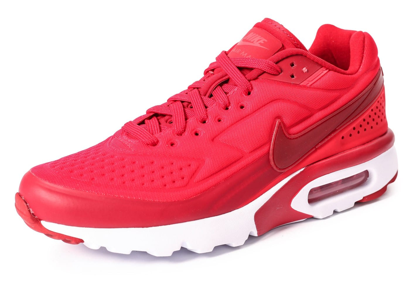 air max bw rouge,chaussures nike air max bw ultra rouge vue