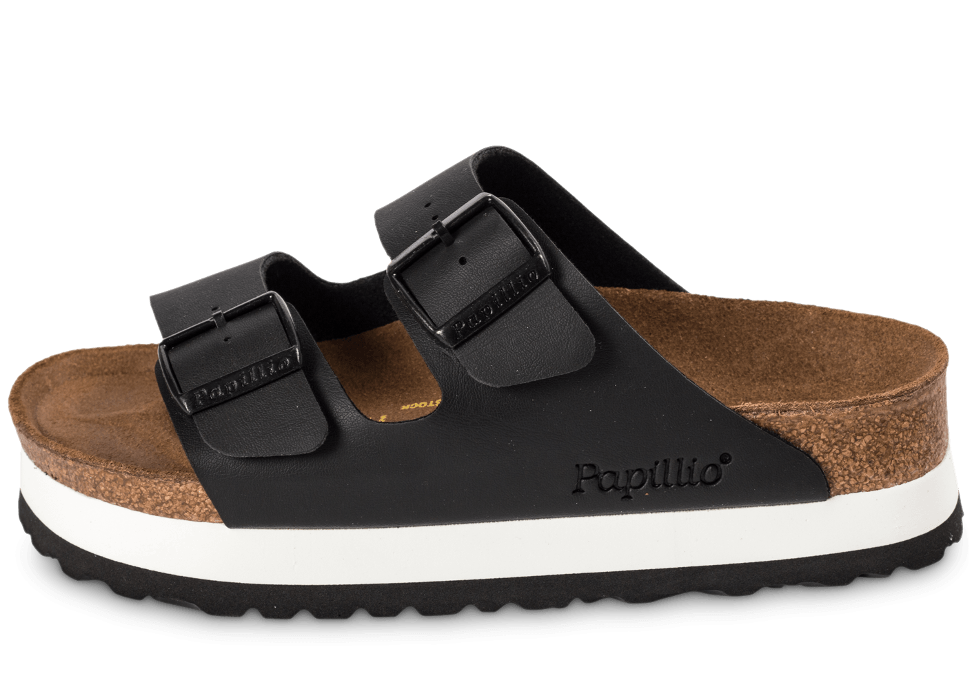 birkenstock arizona compens e noire chaussures femme. Black Bedroom Furniture Sets. Home Design Ideas