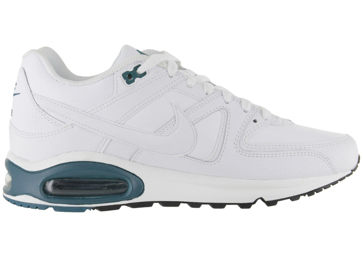 buy online 1e3ec b88d8 ... chaussures nike air max command blanche vue interieure
