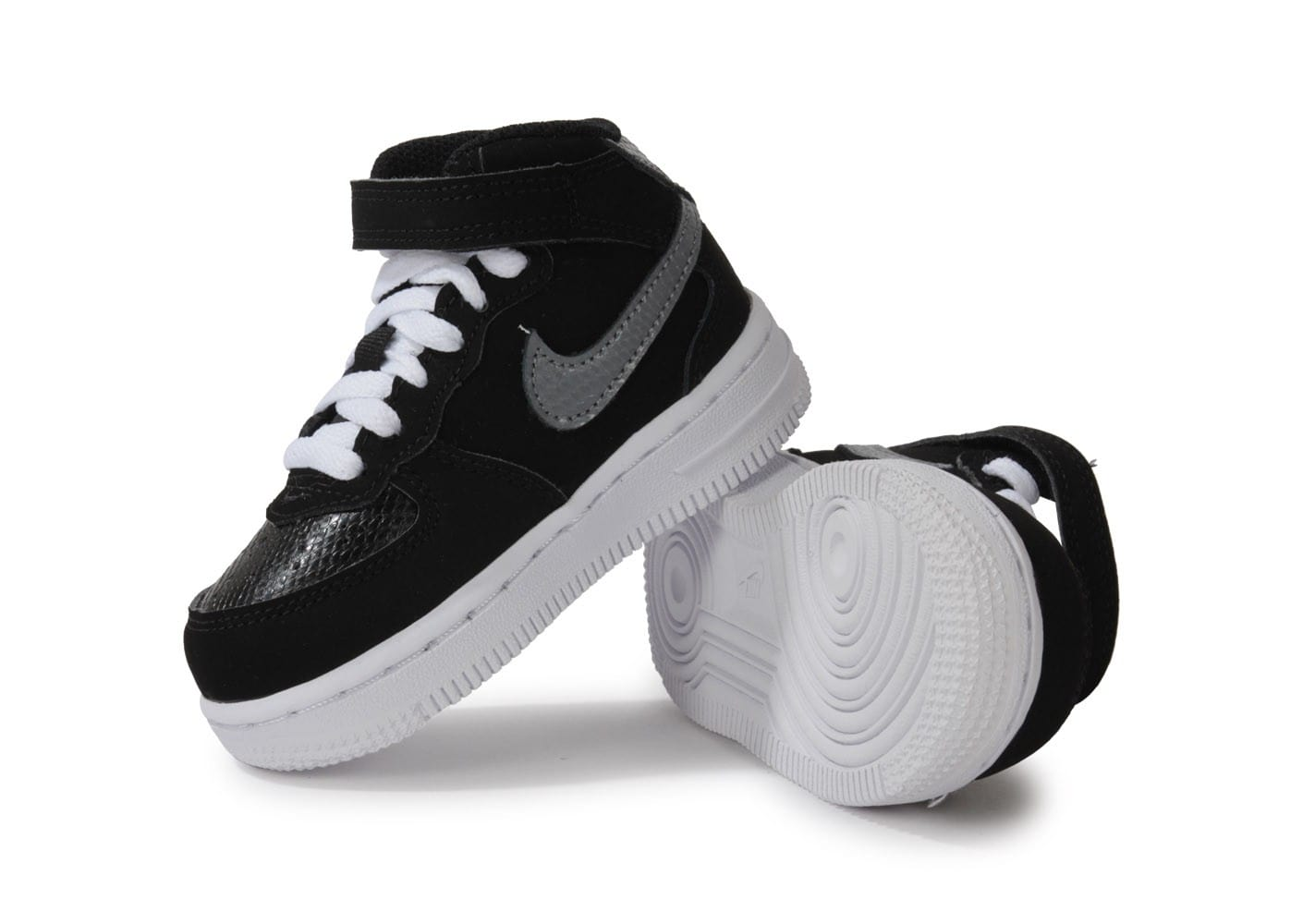 1 Blanche Baskets Bebe nike Mid Air Pour Nike Bebe Force nwNvm80