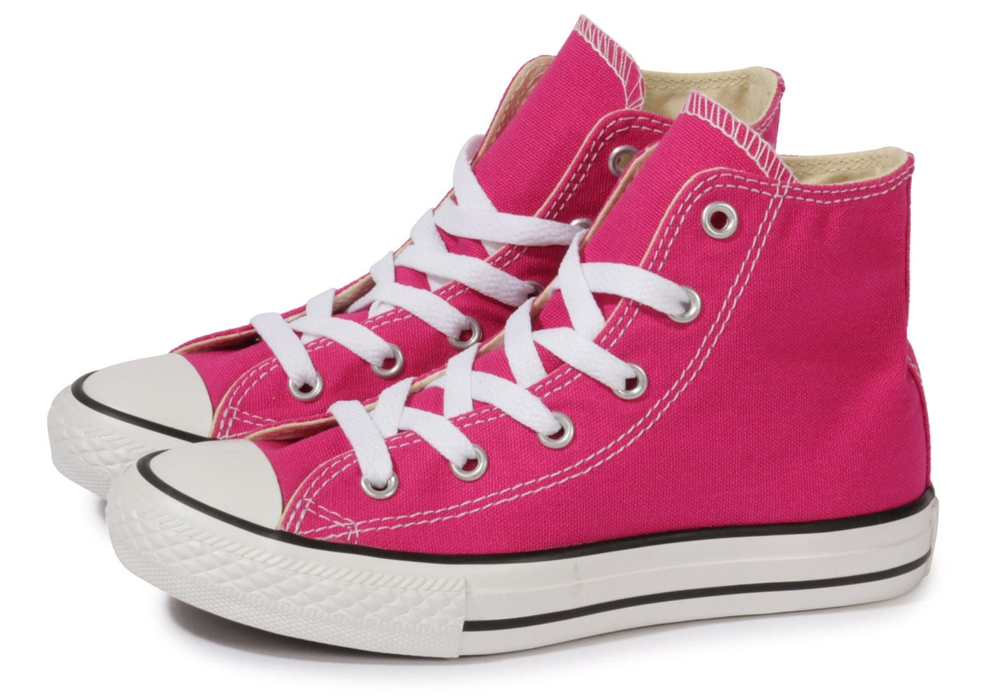 converse chuck taylor all star hi enfant rose chaussures chaussures chausport. Black Bedroom Furniture Sets. Home Design Ideas
