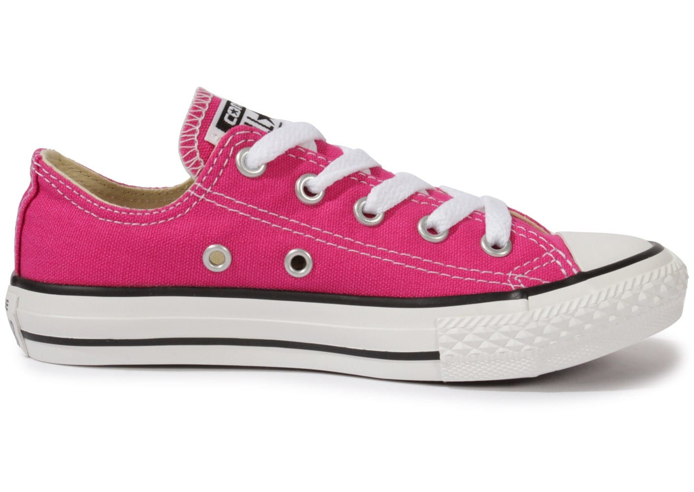 converse chuck taylor all star enfant low rose chaussures chaussures chausport. Black Bedroom Furniture Sets. Home Design Ideas