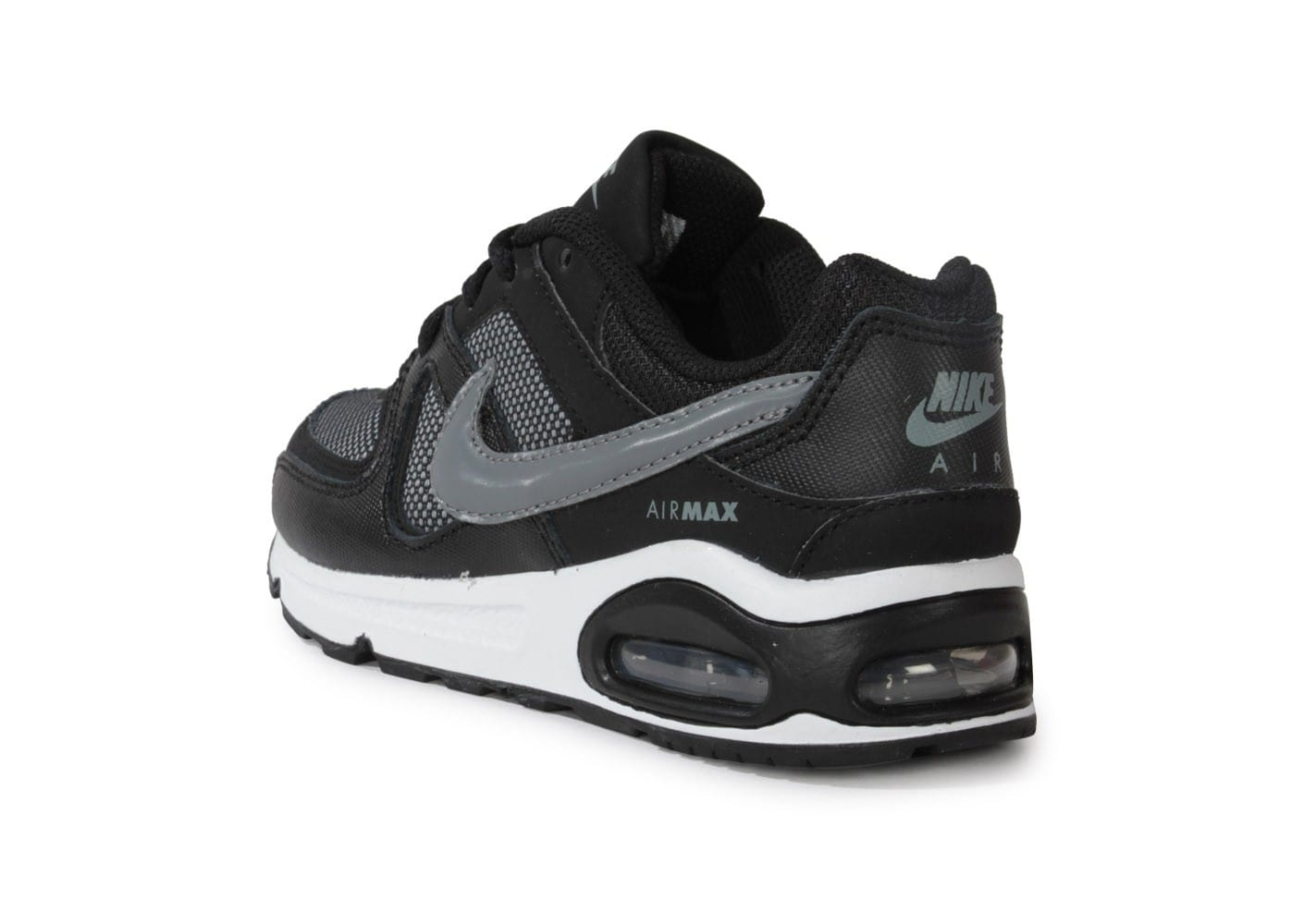 nike air max command enfant noire et grise chaussures chaussures chausport. Black Bedroom Furniture Sets. Home Design Ideas