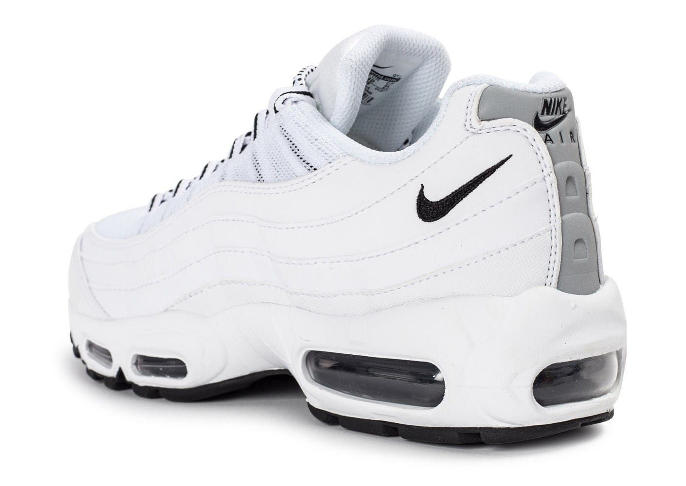 nike air max 95 premium blanche chaussures homme chausport. Black Bedroom Furniture Sets. Home Design Ideas