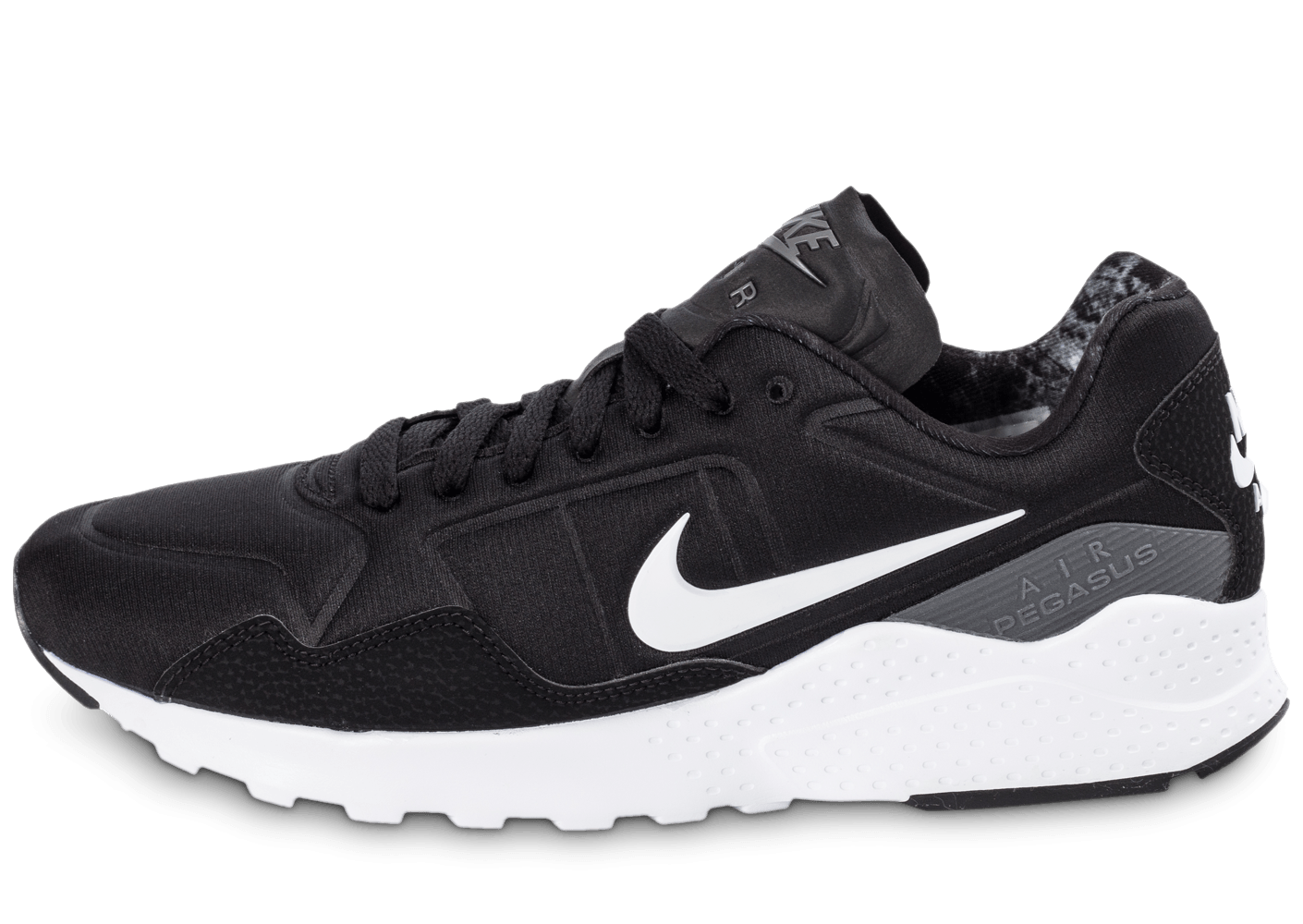 nike air zoom pegasus 92 noire chaussures homme chausport. Black Bedroom Furniture Sets. Home Design Ideas