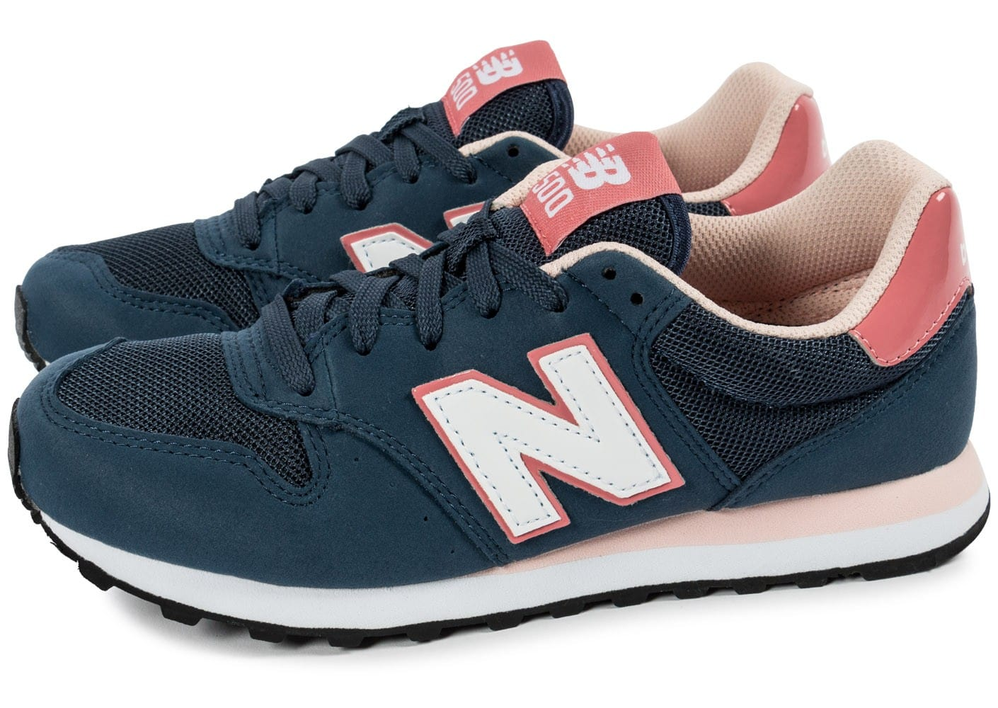 new balance bleu rose