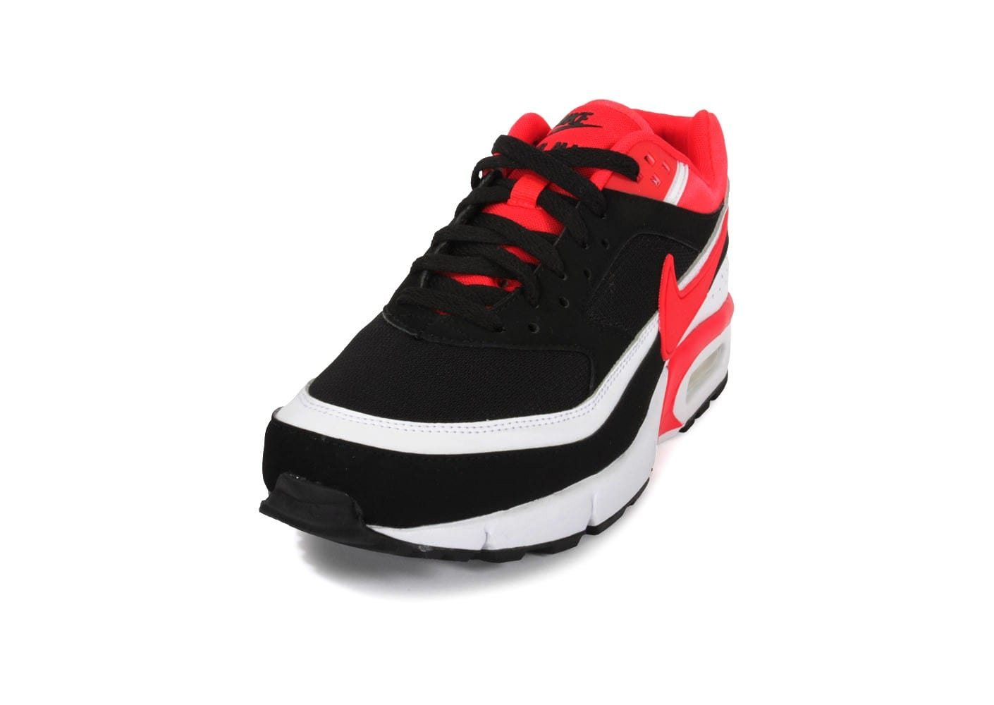 nike air max bw homme chaussures noir rouge 3010