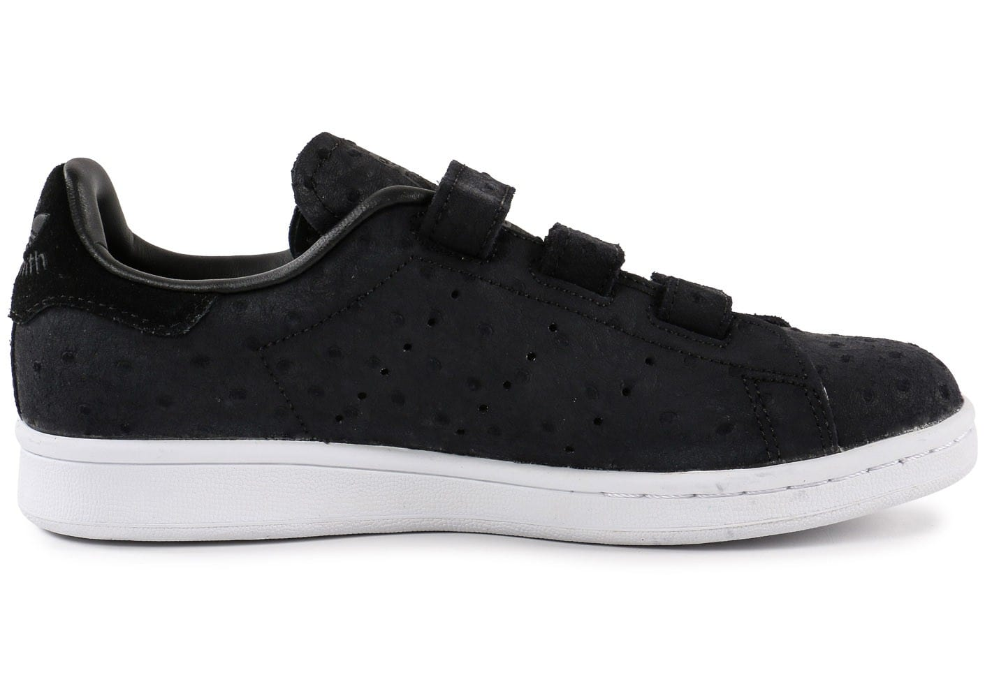 baskets adidas stan smith velcro homme noire
