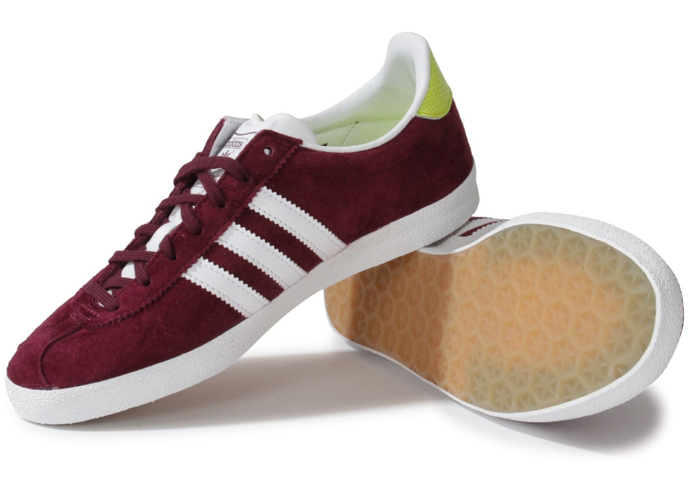 adidas gazelle og bordeaux chaussures adidas chausport. Black Bedroom Furniture Sets. Home Design Ideas