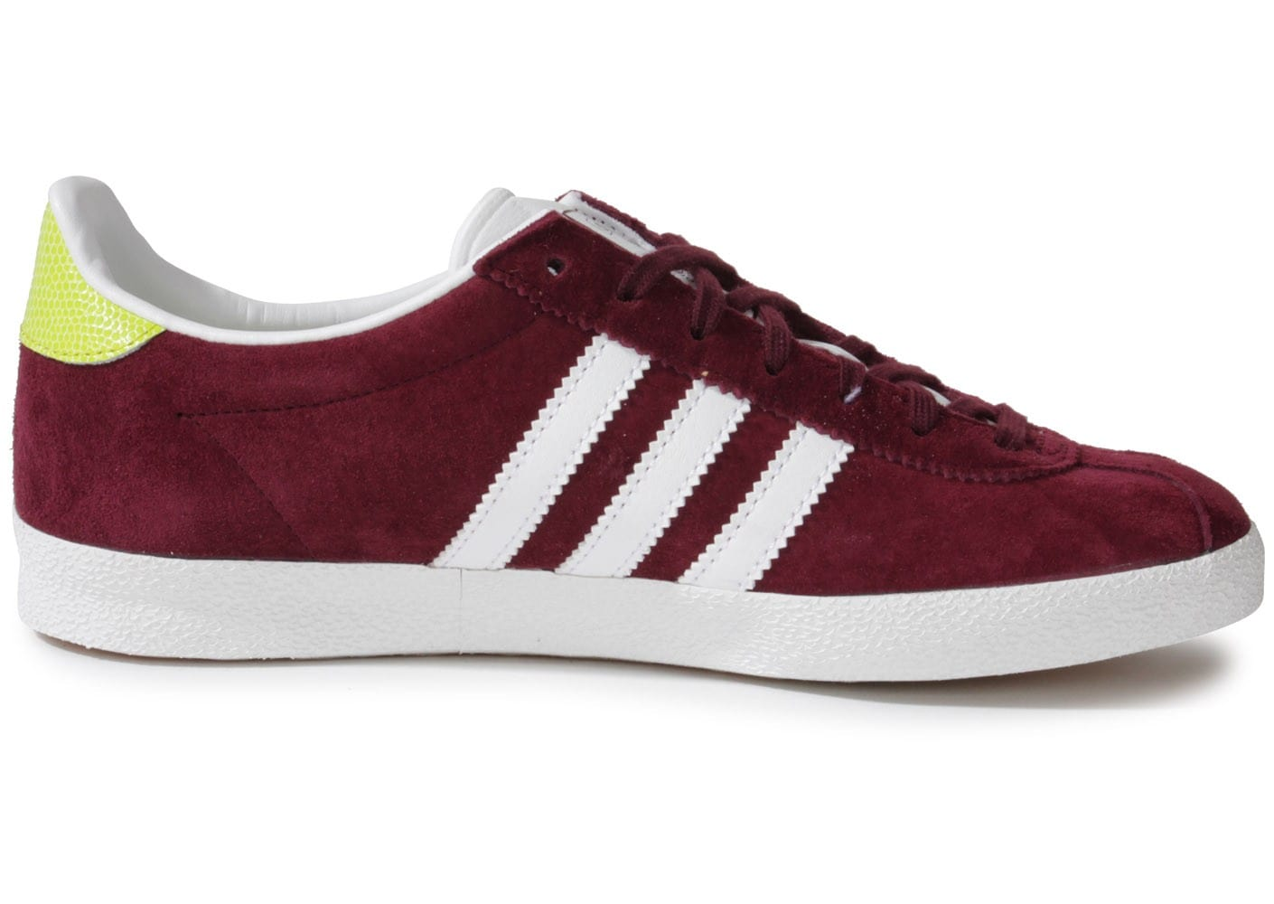 adidas - gazelle - baskets - bordeaux