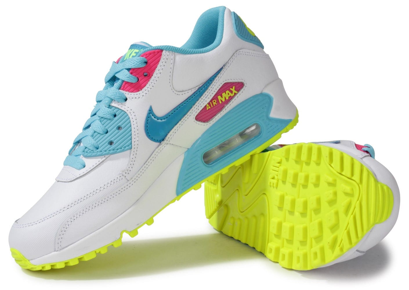 air max 90 blanche junior
