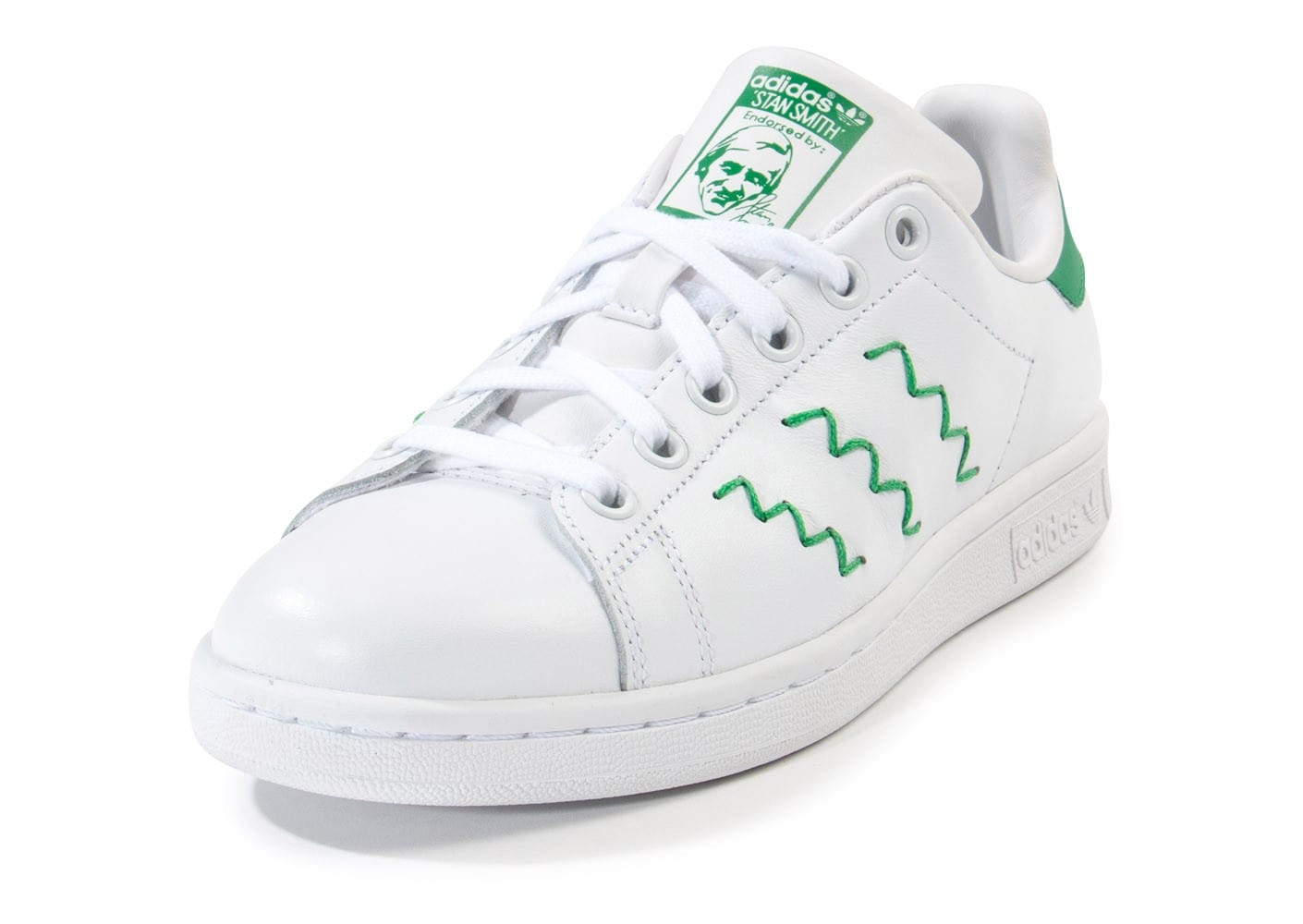 adidas stan smith zigzag blanche chaussures adidas. Black Bedroom Furniture Sets. Home Design Ideas