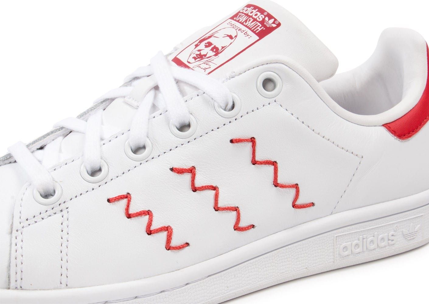 Stan Smith Zigzag Rouge